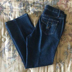 Salt Works medium rise bootcut jeans